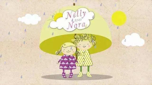 BBC启蒙动画片《Nelly & Nora》,比小猪佩奇更有趣(附资源)